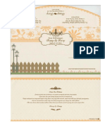 Invitation Card Ferry