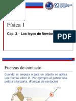 Cap 3A - Leyes de Newton y Aplicaciones