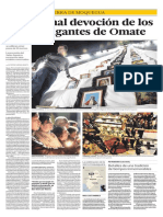 Crónica de la Semana Santa en Omate