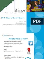 State of Scrum Web in Ar Presentation