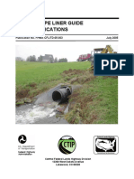 Culvert Pipe Liner Guide and Specifications
