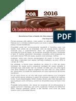 Benefícios Para a Saúde Do Chocolate Escuro