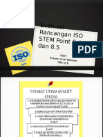 Evaluasi Rancangan ISO STEM Point 8