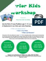 Warrior Kids Workshop-Main