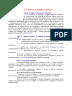 Seguro de Acidentes de Trabalho Em Portugal