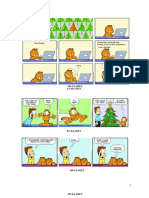 Garfield Edisi Natal (Comic Strip)