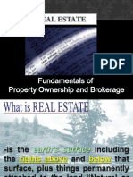 Fundamentals of Property Ownership