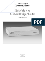 MDS2205 GoWide4.6 User Manual