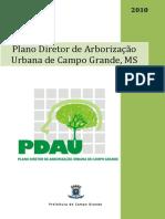 plano de Arborização Urbana plano diretor