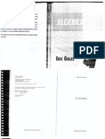 Texto de Álgebra - Eric Goles
