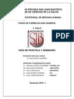 Guía de Prácticas Farmaco 2016-I