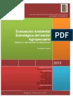 Evaluación Ambiental Estrategica Actividades Agropecuarias Altillanura Colombiana