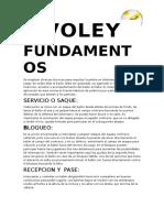 Fundamentos Del Voley