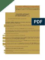 Estafa (Sample Counter Affidavit With Legal Arguments