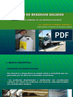 ASPECTOS GENERALES GESTION RESIDUOS PELIGROSOS Y NO PELIGROSOS