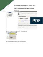 Instalación y Configuración de Un Servidor DHCP en Windows Server 2008