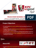 KFC Franchisee Business