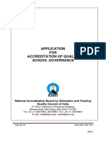 Accreditation Standard for Quality School Governance - Application_1