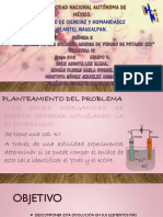 ELECTROLISIS DE UNA SOLUCIÓN ACUOSA DE KI