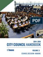 City Council Handbook - Volume 2 (Council Decision-Making)