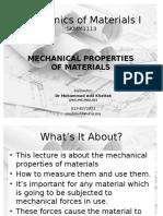 Chap 03 - Mech Properties of Material
