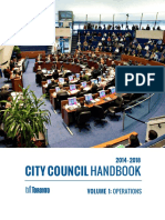 City Council Handbook - Volume 1 (Operations)
