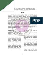 Hub Antara Duksos Dr Tmn Sebaya Dgn Problem Solving Pd Remaja