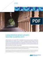 Catastrophe Bond Update 2nd Q 2015