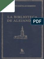 Escolar Hipolito - La Biblioteca de Alejandria