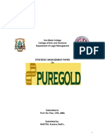 Strategic Management Paper on Puregold