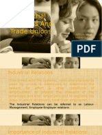 Industrial Relations And Trade Unions Main Copy.pptx