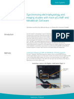 App Protocol Synchronizing Electrophysiology and Imaging Studies With Axon PCLAMP And
