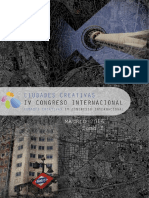 Actas IV Congreso Internacional Ciudades Creativas. Tomo I