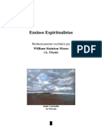 Ensinos Espiritualistas (Psicografia William Stainton Moses - Espíritos Diversos)