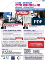 Masters Training in Reproductive Medicine and IVF