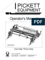 Uniform Rod Cutting Machine