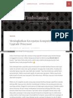 Timbalaning Wordpress Com 2014-10-25 Meningkatkan Kecepatan