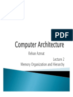 02_Memory Organization and Hierarchy