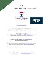Goals - Billion Dollar Agent - Excerpts