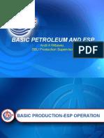Basic Petroleum and ESP