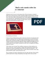 Nvéntale Un Final a Este Cuento Sobre Las Redes Sociales e Internet