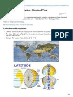 Pmfias.com-Latitudes and Longitudes Standard Time