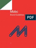 MATIC -Brandbook
