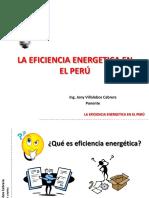 La Eficiencia Energetica en El Perú