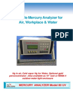 Model 80 Mercury Analyzers
