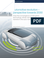 Automotive Revolution Perspective Towards 2030