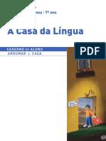 Caderno Fichas Aluno Portugues 7