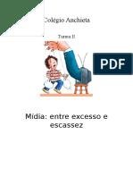 Entre Excesso e Escassez Mídia no Brasil