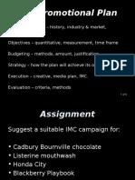 GMC Module 1_Promtional Plan