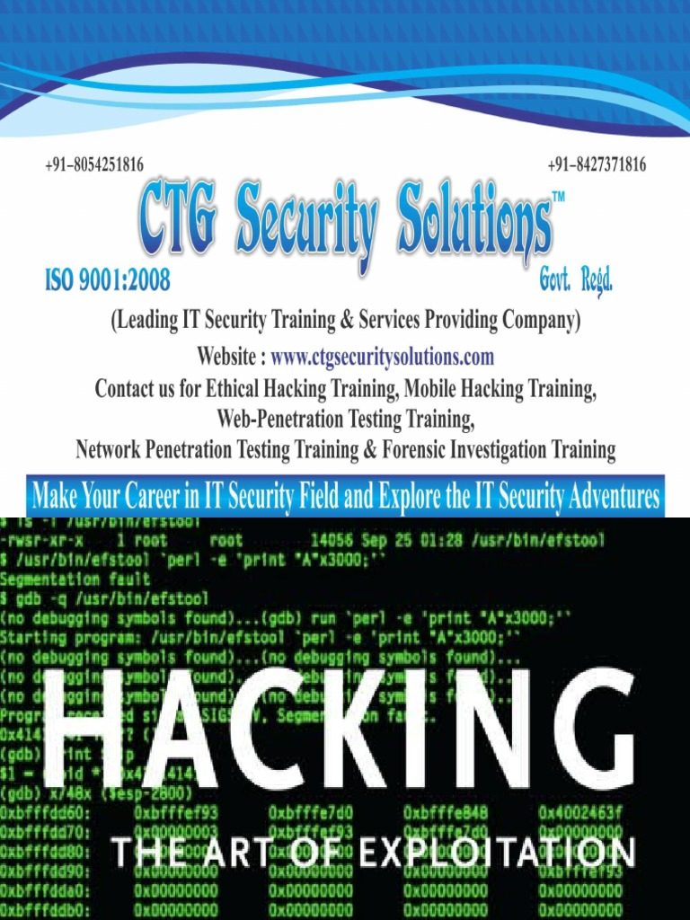Ethical Hacking Security Hacker White Hat Computer Security